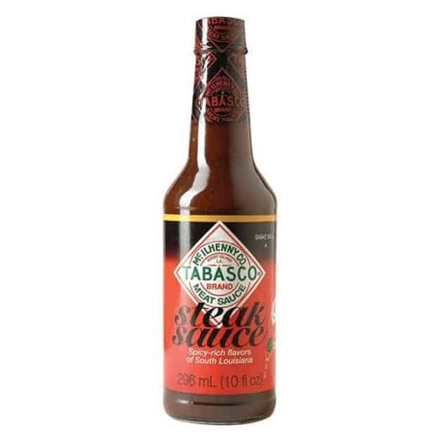 Sauce piquante Tabasco Louisiana steak sauce 296 ML