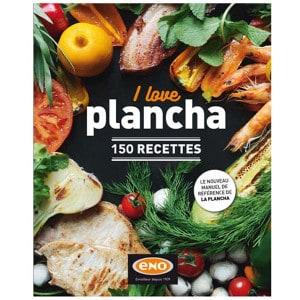 Livre de recettes ENO I love plancha