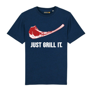 Tee-shirt Barbecue Republic Just Grill It Marine L