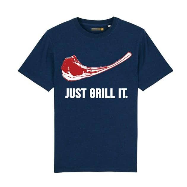 Tee-shirt Barbecue Républic Just Grill It Marine XL