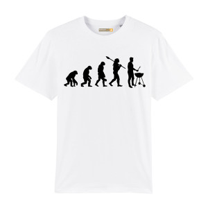 Tee-shirt Barbecue Republic Evolution Blanc L