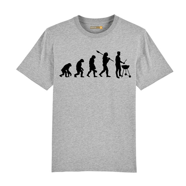 Tee-shirt Barbecue Républic Evolution Gris M