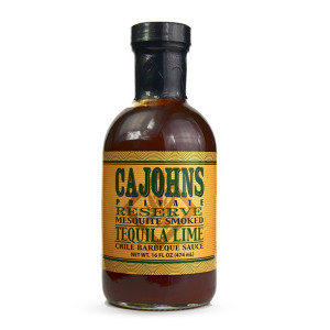 Sauce barbecue Cajohn's tequila citron