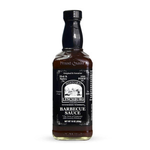 Sauce barbecue Lynchburg pimentée whiskey Jack Daniels