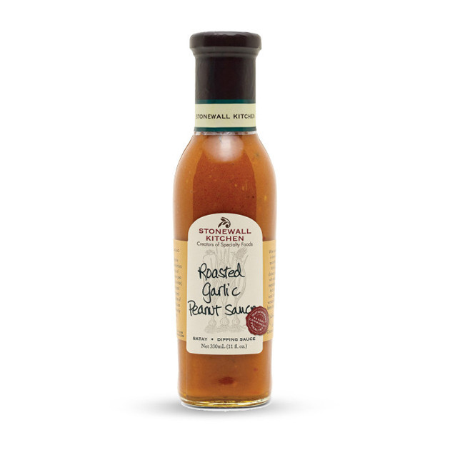 Sauce barbecue Stonewall Roasted garlic peanut