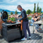 Barbecue Gaz Outdoorchef Lugano 570g Evo noir