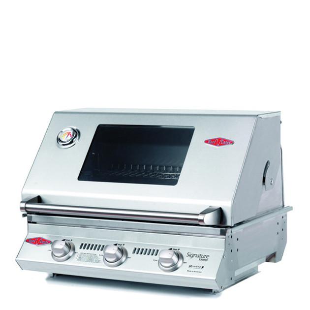 Barbecue gaz encastrable Beefeater Signature 3000S 3 brûleurs et grille fonte