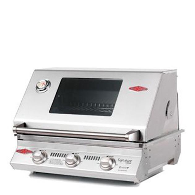 Barbecue gaz encastrable Beefeater Signature 3000SS 3 brûleurs et grille inox