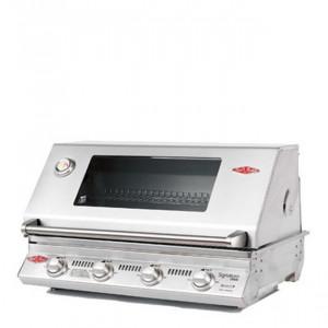 Barbecue encastrable gaz Beefeater Signature 3000SS 4 brûleurs et grille inox