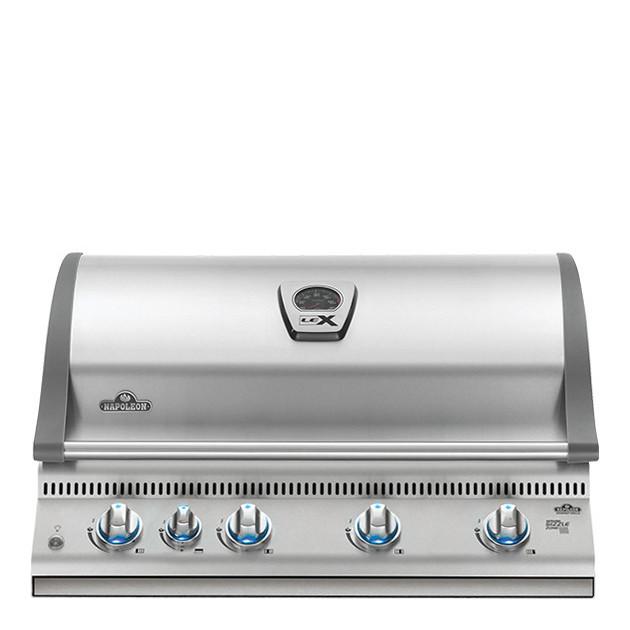 Barbecue gaz encastrable Napoleon LEX 605 infrarouge inox