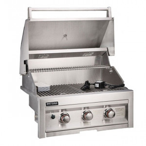 Barbecue gaz encastrable Sunstone Sun 3 feux inox