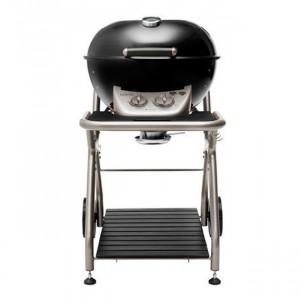 PACK PROMO Barbecue gaz sur chariot Outdoorchef Ascona 570 G noir
