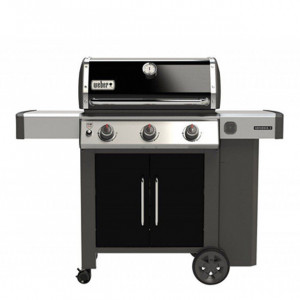 Pack promo barbecue gaz sur chariot Weber Genesis II E-315 GBS noir