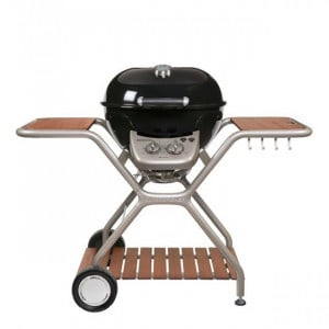 PACK PROMO Barbecue gaz sur chariot Outdoorchef Montreux 570 G noir