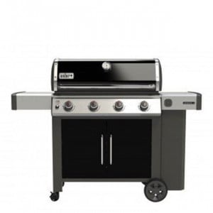 Pack Promo Barbecue gaz sur chariot Weber Genesis II E-415 GBS noir