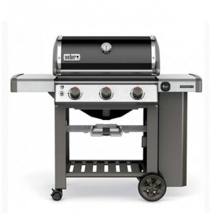 PACK PROMO Barbecue gaz sur chariot Weber Genesis II E-310 GBS noir