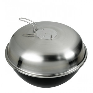 Barbecue rond charbon encastrable 54 Dancook inox