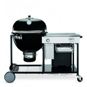 Barbecue fumoir charbon sur chariot Weber Summit Grill Center
