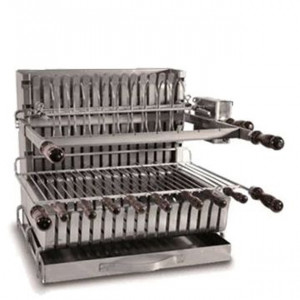 Barbecue grilloir charbon Forge Adour 911.56 inox