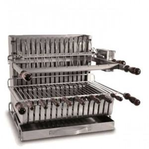 Barbecue grilloir charbon Forge Adour 911.66
