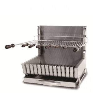 Barbecue grilloir à poser charbon Forge Adour 56 cm