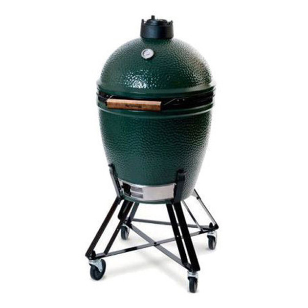 PACK N° 105 : Barbecue Kamado Big Green Egg Large sur chariot