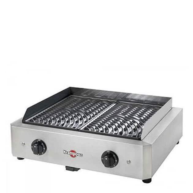 Barbecue grill électrique Krampouz Mythic Double