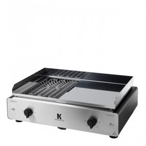 Plancha et barbecue électrique Krampouz Duo K