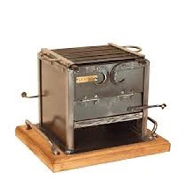Barbecue de table charbon Forge de Megève 20x22 cm