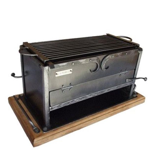 Brasero de table Forge de Megève 20x40 cm
