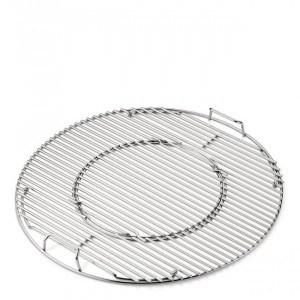 Grille de cuisson barbecue charbon Weber GBS 57 cm inox