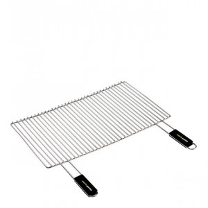 Grille de cuisson barbecue Cook'in Garden 67 x 40 cm chrome
