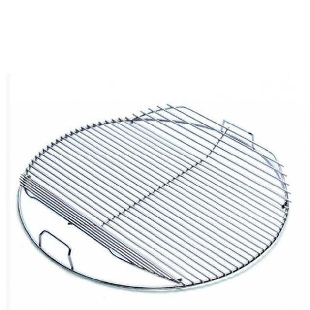 Grille de cisson articulée pour barbecue 57 cm