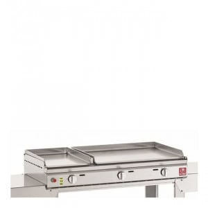 Plancha gaz Planet Duo lisse 26/55