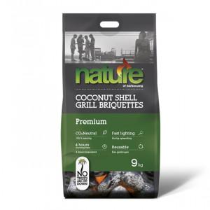 Briquette de charbon de coco Nature 9 kg