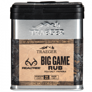 Rub Traeger Big Game - Sel de mer et paprika