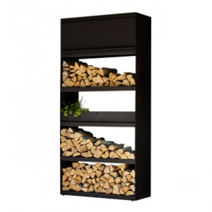 Wood Storage Ofyr Black 100