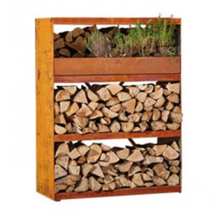 Wood Storage Ofyr Cabinet Corten