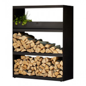 Wood Storage Ofyr Cabinet Black