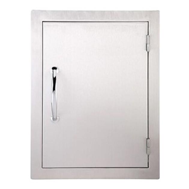 Petite porte d'accès verticale simple pour cuisine d'extérieur Sunstone Classique