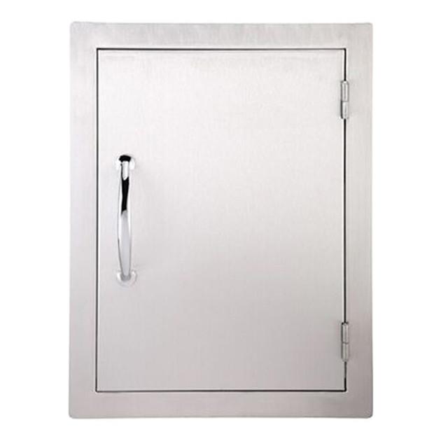 Grande porte verticale simple pour cuisine d'extérieur Sunstone Classique
