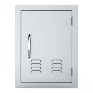 Porte simple verticale ventillée Sunstone OD PM 59 cm inox