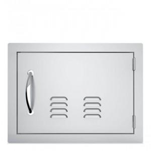 Porte simple horizontale ventilée Sunstone OD GM 69 cm inox