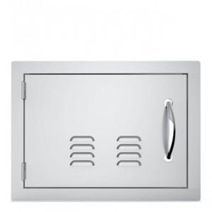 Porte simple horizontale ventilée Sunstone OG GM 69 cm inox