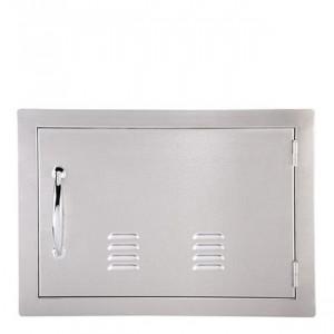 Porte simple horizontale ventilée Sunstone OD PM 59 cm inox