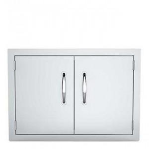 Petite porte horizontale double pour cuisine d'extérieur Sunstone Classique