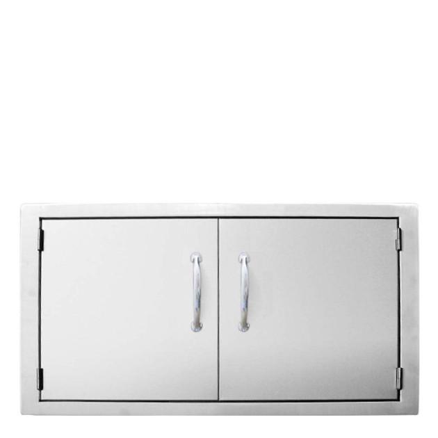 Grande porte horizontale double pour cuisine d'extérieur Sunstone Classique