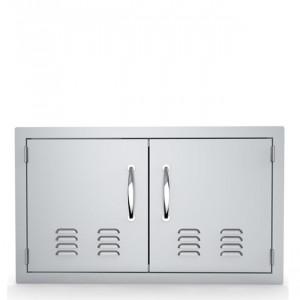 Porte double horizontale ventilée Sunstone PM 76 cm