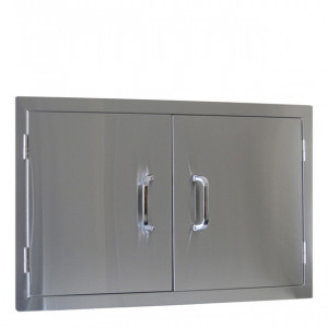 Double porte Beefeater Large inox