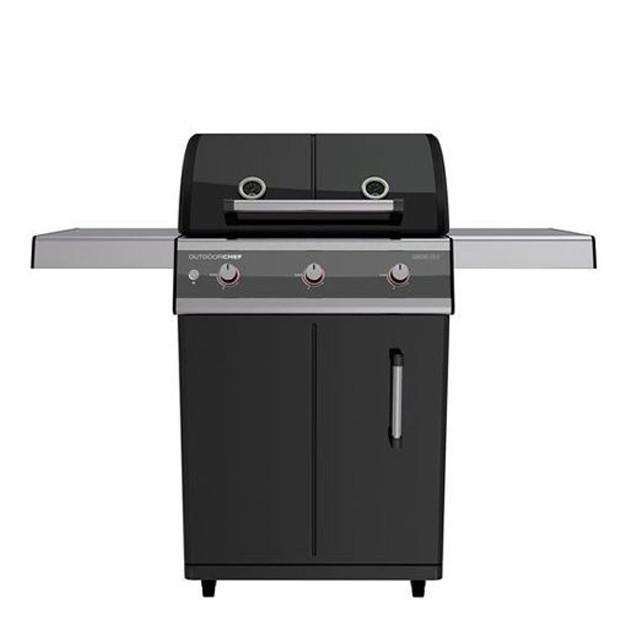 Barbecue gaz Outdoorchef Dualchef 315G noir
